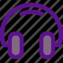 essential, headphones, interface icon