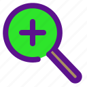 essential, increase, interface icon