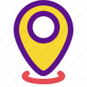 essential, interface, location icon