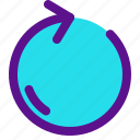 essential, interface, refresh icon