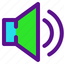 essential, interface, sound icon