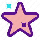 essential, interface, star icon