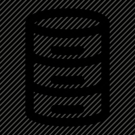 Database, server, storage, data, hosting, cloud, document icon - Download on Iconfinder