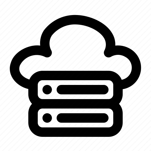 Cloud, server, storage, database, data, file, document icon - Download on Iconfinder