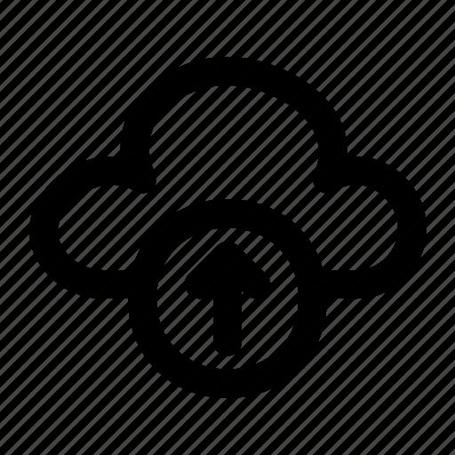 Cloud, upload, server, database, network, file, document icon - Download on Iconfinder
