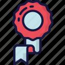 award, essentials, reward, ribbon, winner icon