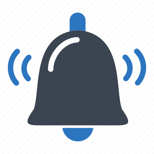 bell, essentials, notification, ringing icon