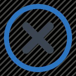 close, delete, essentials, remove, worng icon