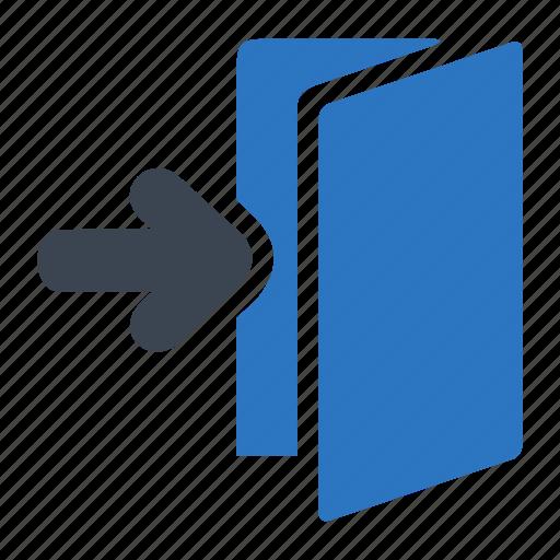 enter, entering, essentials, folder icon