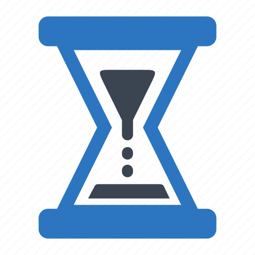 essentials, processed, time, waiting icon