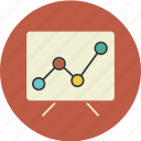 analysis, board, chart, graph, infographic, statistic, traffic, web icon