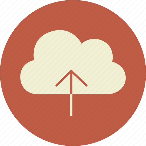 arrow, backup, cloud, data, download, guardar, hosting, information, network, save, share, upload icon