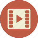 clip, film, media, movie, multimedia, play, short, start, video icon