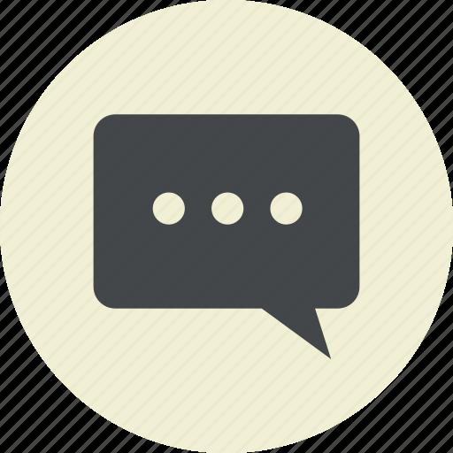 bubble, chat, comment, communication, dialog, forum, function, message, speaking, talk, web icon