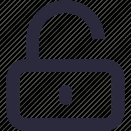access, lock, passkey, password, unlock icon