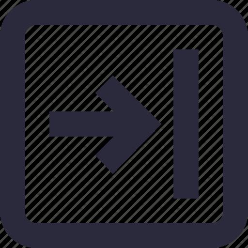 arrow, direction arrow, directional, pointing arrow, right arrow icon