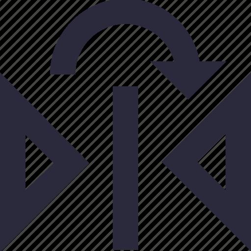 arrow, maximize, measurement, size, width icon