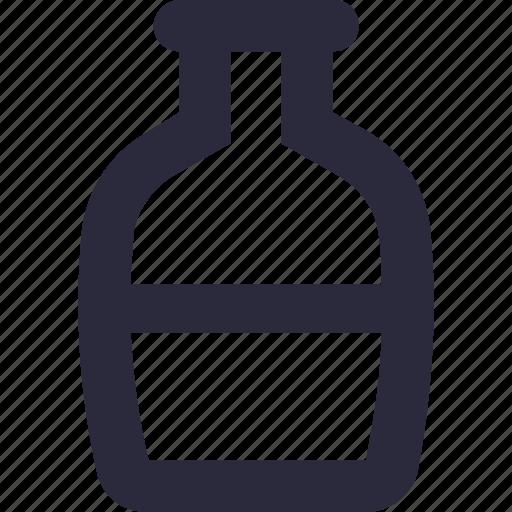 alcohol, bottle, liquor, milk bottle, wine bottle icon