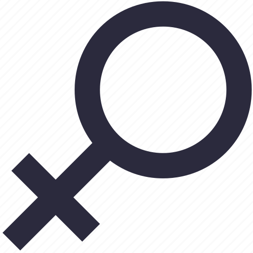 female, female gender, gender symbol, sex symbol, woman icon