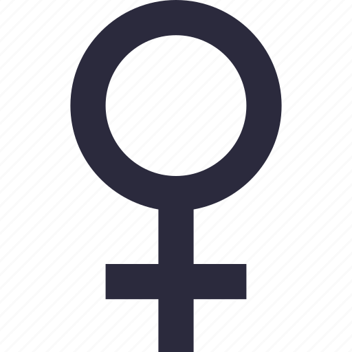 Female, female gender, gender symbol, sex symbol, woman icon - Download on Iconfinder