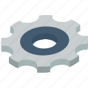 essentials, isometric, settings icon
