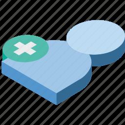 essentials, isometric, new, user icon