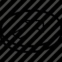 essentials, forwards, isometric icon