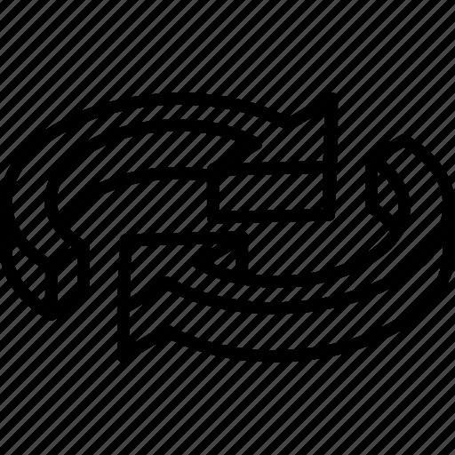 essentials, isometric, repeat icon