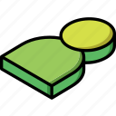 essentials, isometric, user icon