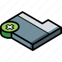 new, folder, isometric, essentials