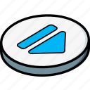 essentials, isometric, skip icon