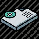 new, isometric, document, essentials