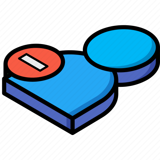 Delete, essentials, isometric, user icon - Download on Iconfinder