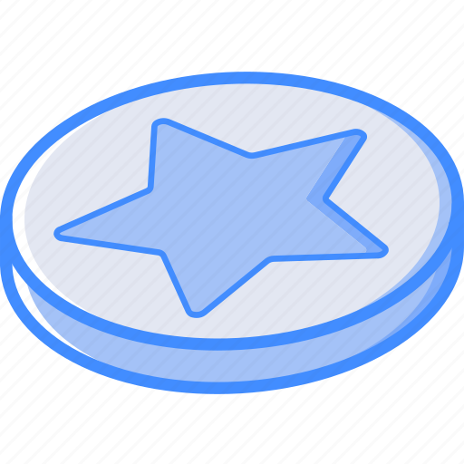 Essentials, favourite, isometric icon - Download on Iconfinder