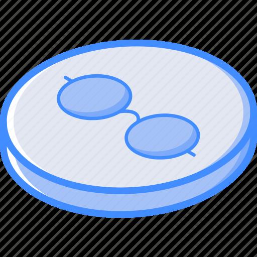 essentials, isometric, list, reading icon