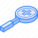 essentials, in, isometric, zoom icon