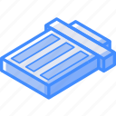 isometric, trash, essentials