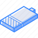 battery, isometric, quater, essentials
