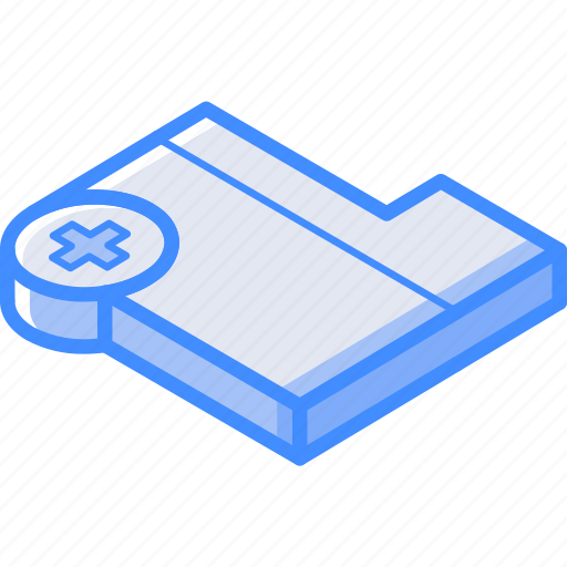 Essentials, folder, isometric, new icon - Download on Iconfinder