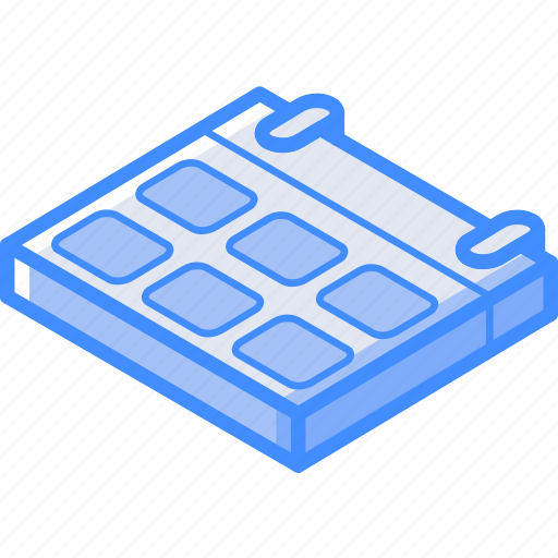 calendar, essentials, isometric icon