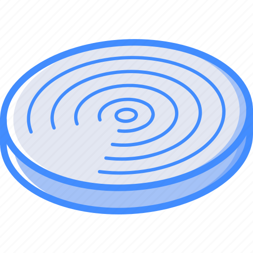 Airdrop, essentials, isometric icon - Download on Iconfinder