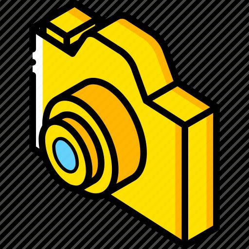 Camera, essentials, isometric icon - Download on Iconfinder