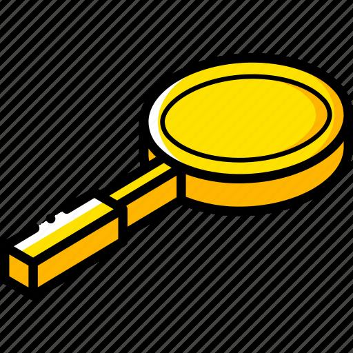 Essentials, isometric, zoom icon - Download on Iconfinder