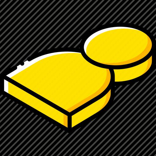 essentials, isometric, user icon