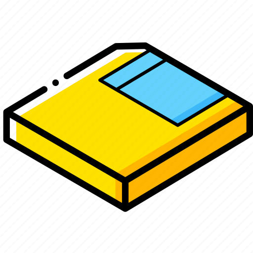 Essentials, isometric, save icon - Download on Iconfinder