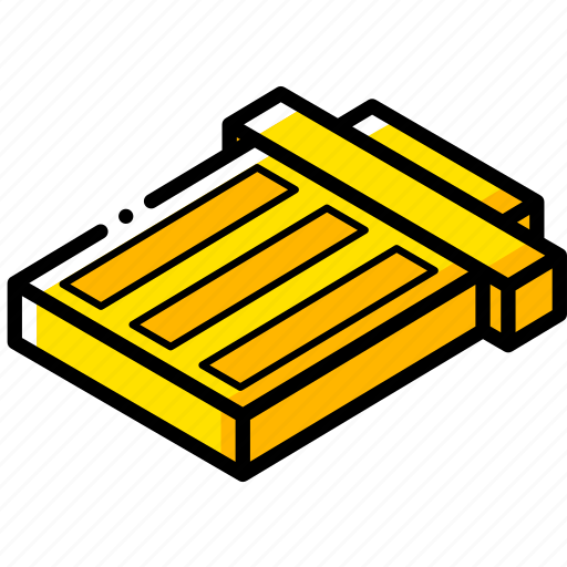 essentials, isometric, trash icon