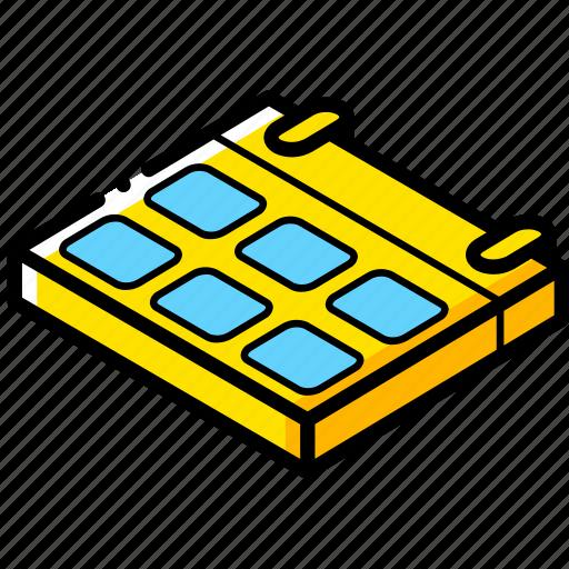 calendar, essentials, isometric icon
