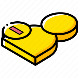 delete, essentials, isometric, user icon