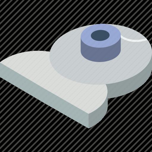 essentials, isometric, webcam icon