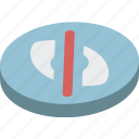 essentials, hide, isometric icon